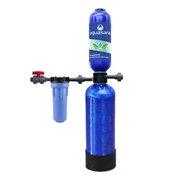 A Salt-Free Water Softener System