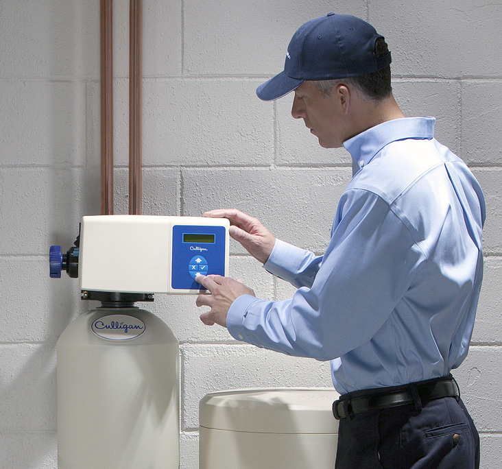 Most Electric Water Softeners Are Bulky...