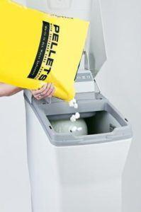 The Lids Are Ergonomically-Designed To Ensure Efficient Salt Pellet Loading...