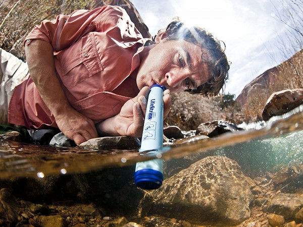 The LifeStraw Water Filter Can Only Be Used As A Straw...