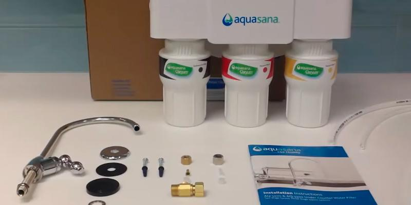 Aquasana AQ-5300.55 Model Water Filter System