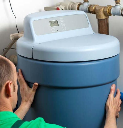 Ideally, Water Softeners Should Be Placed At Dry Area Near To A Drain...