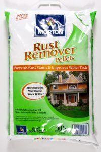Morton Rust Remover Salt Pellets