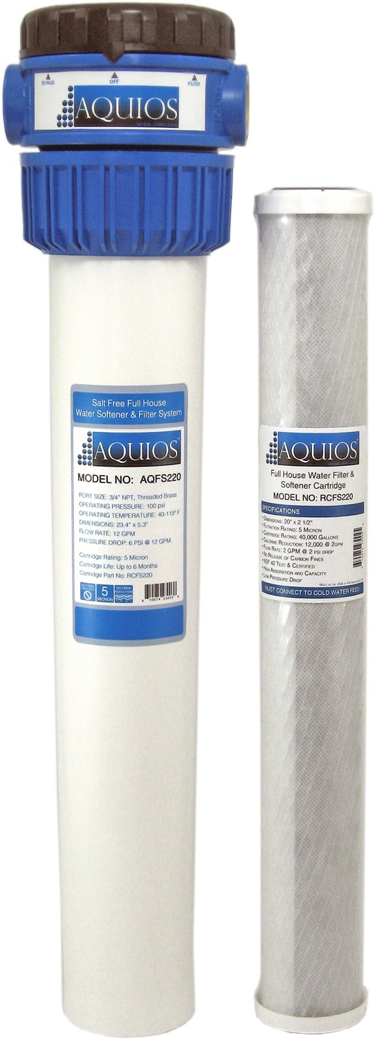 Aquios Salt-Free Water Conditioner & Filter (FS-220)