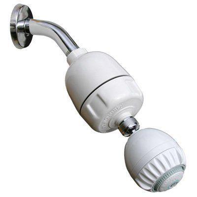 Rainshow'r Shower Filter W/ Massaging Shower Head (CQ-1000-MS)