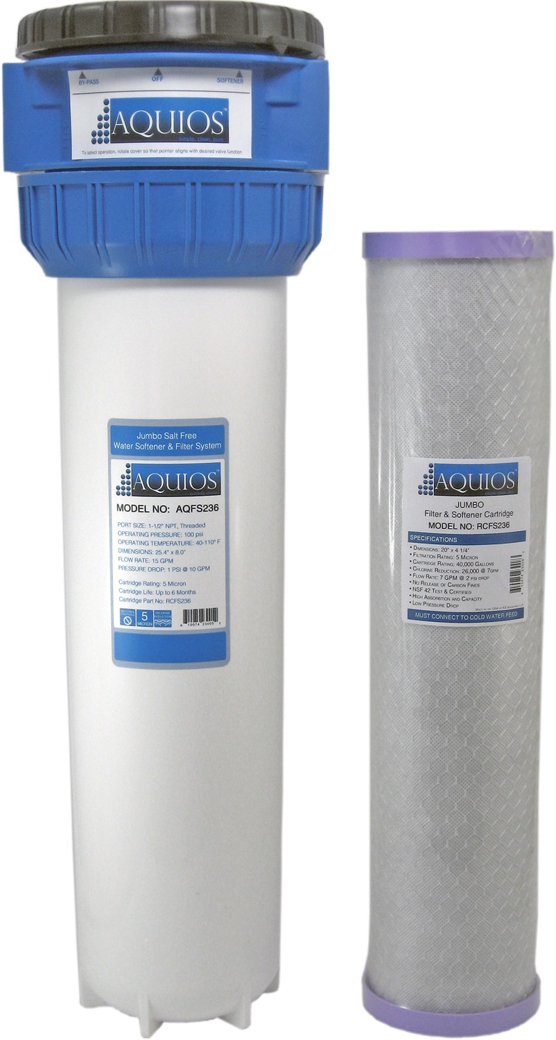 Aquios Jumbo (AFS234L) Full House Water Filter & Softener System