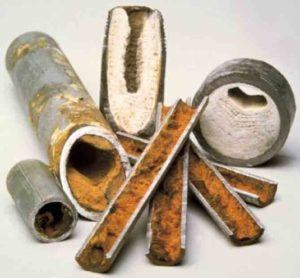 Pipes With Hard Minerals...